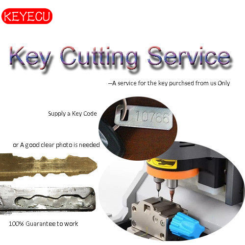 KEYECU Car Key Cutting Service - All Makes and Models - Key Purchase from US Only