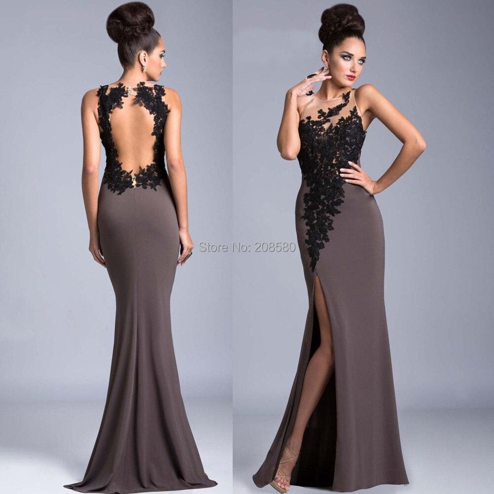 Grey Evening Dresses   All Dress