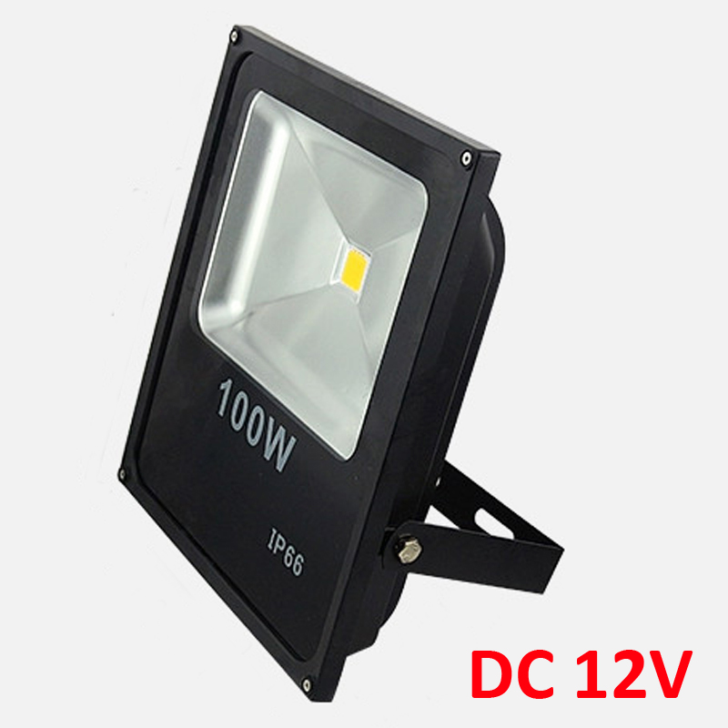 100W DC12V LED Flood Light LED spotlight 100W Warm/Cold White Outdoor spotlight Light LED Floodlight free shipping ultrathin led flood light 100w led floodlight ip65 waterproof ac85v 265v warm cold white led spotlight outdoor lighting
