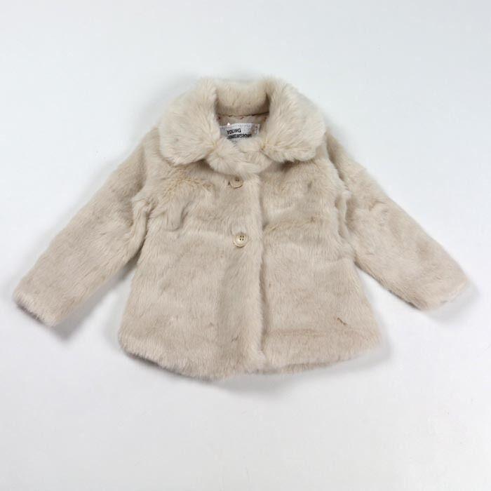 2015 new girls coat kids faux fur jackets girls fashion outwear ...
