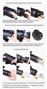 Image 5 - Sunsun GRECH аквариум ультрафиолетовый УФ фильтр бактериальные водоросли убийца лампа чашка 803 805 807 809