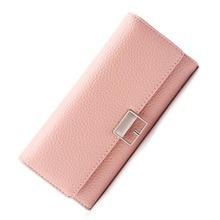 2018 Women Wallet Brand Design Soft pu Leather Long Purse Clutch bag Money Phone Card Holder Female Wallets стоимость