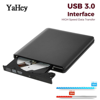 USB 3.0 High Speed DL DVD RW Burner CD Writer External DVD Optical Drive Portatil for Apple/ HP Laptops ,Desktop PC