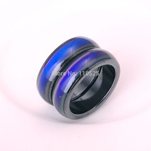 10pcs Natural Stone Fashion Magnetic hematite mood multicolor ring for men and women  jewelry Hot Sale Wholesale For Woman