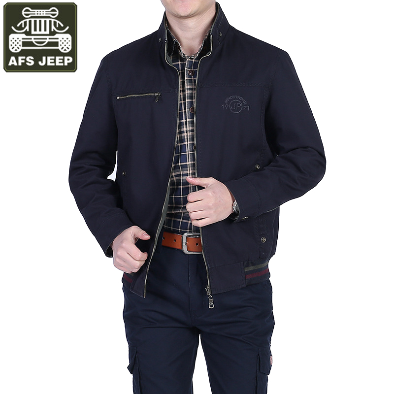 AFS JEEP Brand Autumn Jacket Men Coat Wear Double-sided Jacket Casual Military Jackets Coats Jaqueta Masculina Chaquetas Hombre
