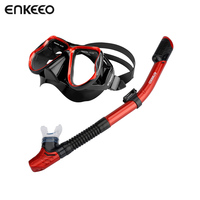 Enkeeo Underwater Hunting Camera Diving Mask Scuba Snorkel Swimming Goggles For GoPro Xiaomi SJCAM Sports Camera