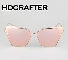 Fashion Women Sunglasses Classic Brand Designer Sun Glasses Double-Bridge Shades