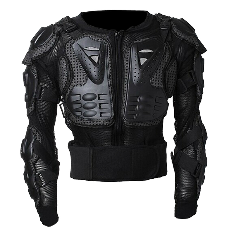 Wosawe Professional Motorcycle Body Protection Motor cross Racing Body Spine Chest Protective Jacket Gear Back Support