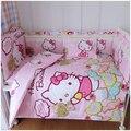 Baby bedding set 100% cotton bed around crib piece set baby bed around newborn crib bedding set
