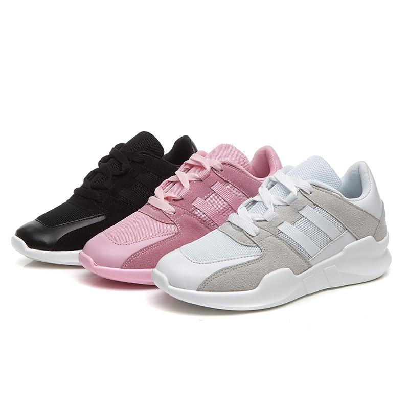 Для женщин дышащие кроссовки с сеткой 2018 Для женщин спортивные дышащие кроссовки спортивные кроссовки Ультрас повышает 350 Размер 35–40