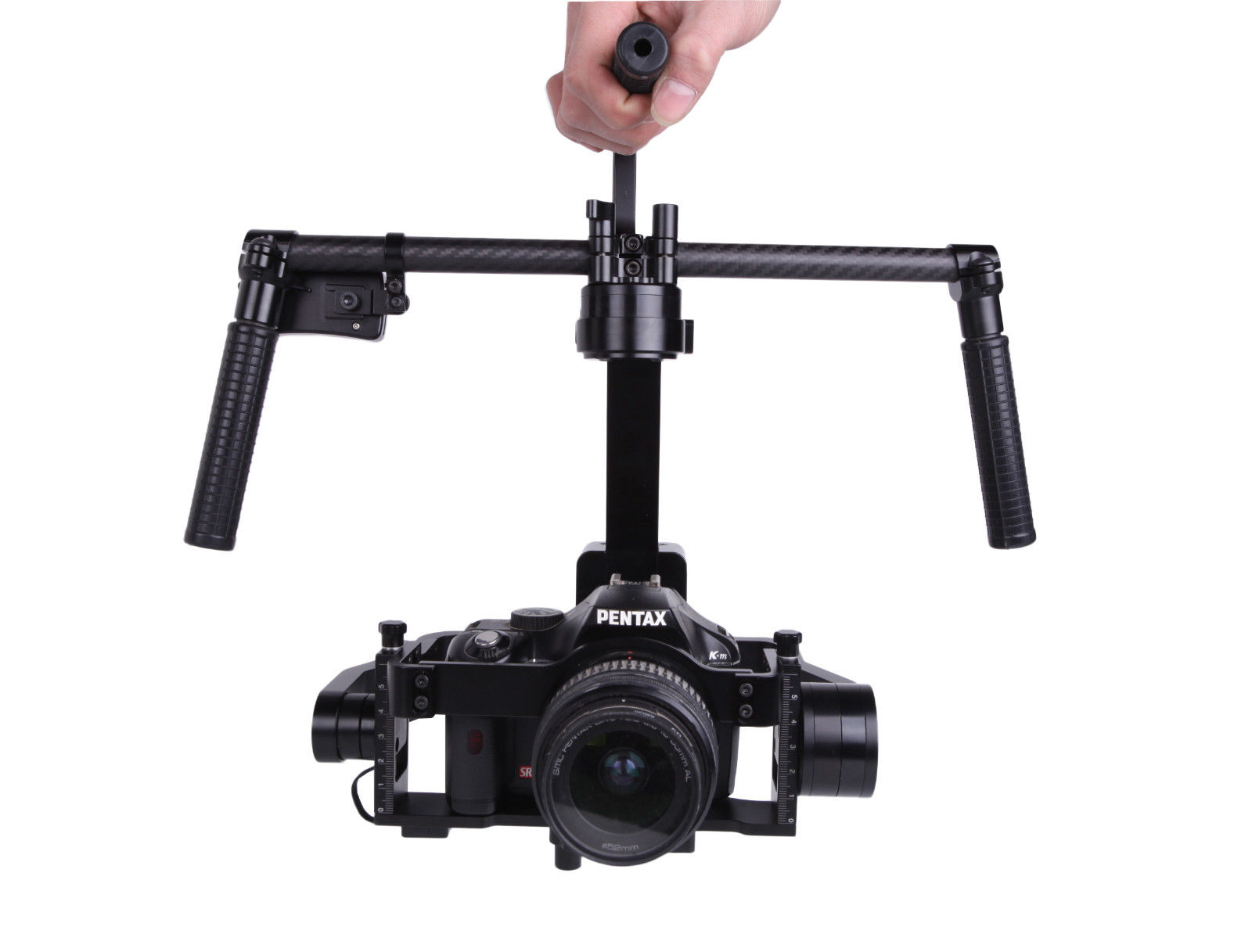 G6300 encoder Brushless Handheld Gimbal A6300 GH4 NX1 G7 RX10 Camera Stabilizer yuneec q500 typhoon quadcopter handheld cgo steadygrip gimbal black