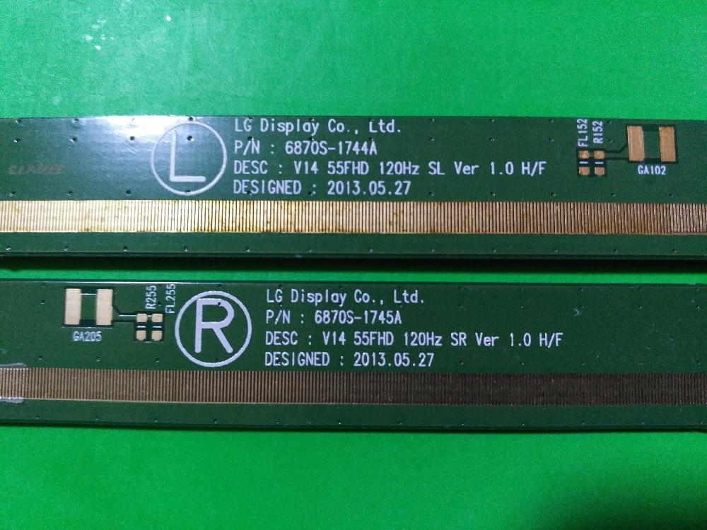 6870S-1744A 6870S-1745A LCD Panel PCB Part A Pair 6870s 0535a 6870s 0534a lcd panel pcb part a pair