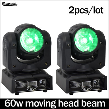 60 w moving head disco light dmx512 luces discoteca Professional stage 2 ชิ้น/ล็อต