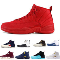 12s basketball shoes men Winterized Gym red CNY flu game GAMMA BLUE Dark grey the master taxi mens sports sneakers us7 us13