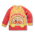 Otoño de Los Niños Sudadera Niños Niñas Algodón Anpanman Manga Larga de Cachemira Suéter Caliente Tops de la Camiseta Del Resorte Del Bebé Outwear