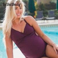 Siamese Underwear Pregnant Women Summer Ladies Large Size Pregnant Women Siamese Beach Swimwear FF330
