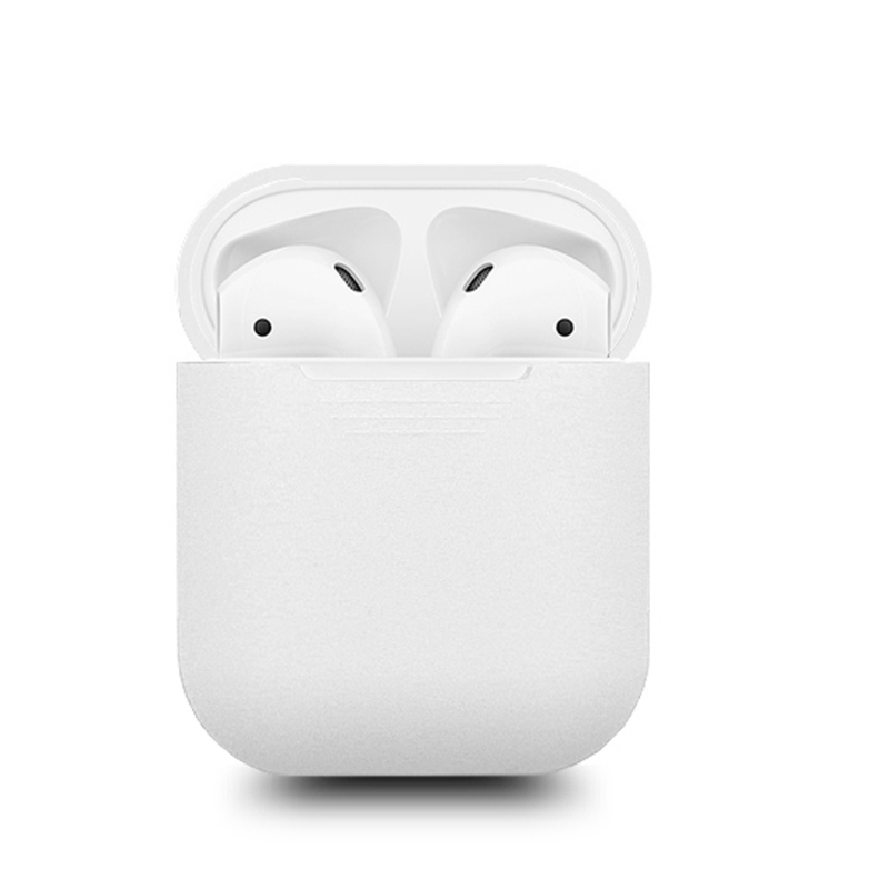 OOTDTY Noctilucent Silicone Case Glow In The Dark Anti-Lost Protective Sleeve Earphone Box For Apple AirPods