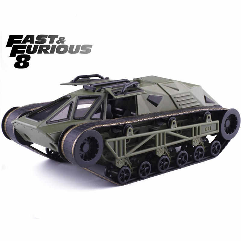 Brand New Jada 1:24 FAST AND FURIOUS F8 RIPSAW TANK TRUCK Diecast Model Car Toy For Baby Birthday Gifts Toys Free Shipping brand new smt yamaha feeder ft 8 2mm feeder used in pick and place machine