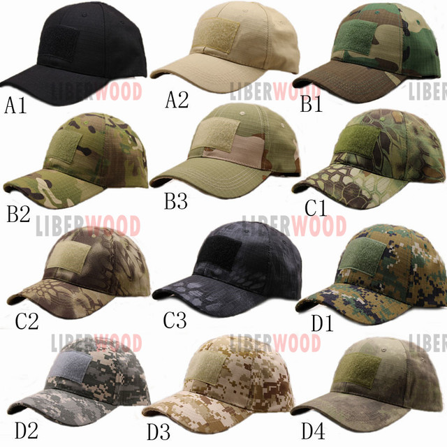 Men s Women Army Cap Jungle Hunting Baseball Cap Bionic Camouflage Cotton  Hat for Outdoor Tactical   3a417d75ec