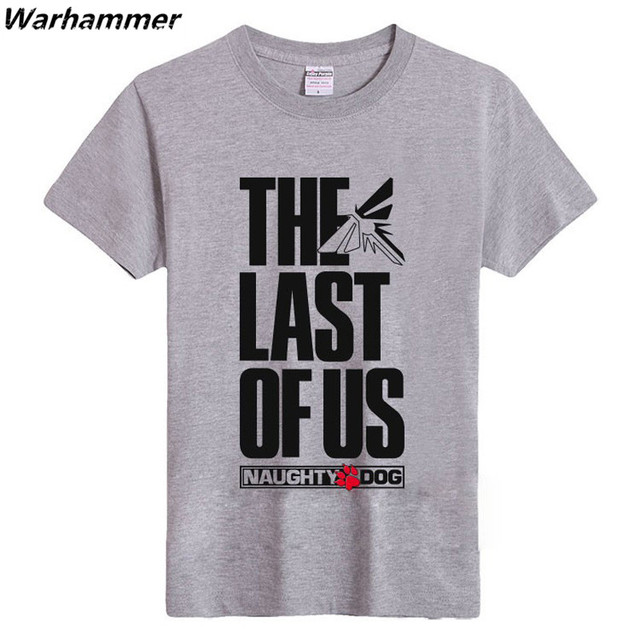 The Last Of Us Men T shirt The Last Survivor Gamers Short Sleeve Tshirts Fashion Style O-neck S-XXXL Cotton Printed Pattern Tees