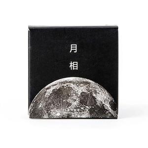 Image 2 - 24 упак./лот темно Луна звезды декоративные наклейки самоклеящиеся Стикеры для художественного оформления ногтей, ручная работа Дневник коробка с наклейками посылка