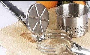 Image 5 - ステンレス鋼ジューサーブドウ、スイカにスクイズジュース、ザクロジュース側皿ジュースプレス機