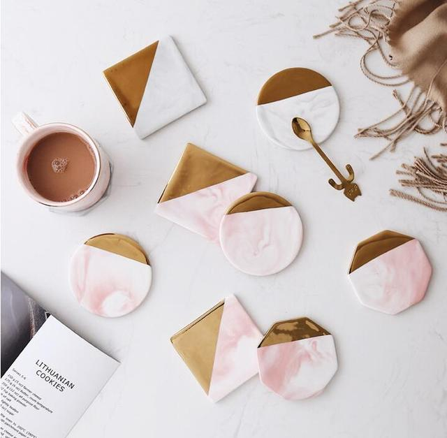HTB1IeMsXizxK1RkSnaVq6xn9VXaR.jpg 640x640 - tabletop-and-bar, drinkware - Rose Marble Ceramic Coaster