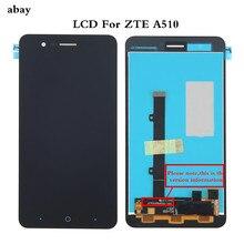 """ل 5.0 """"ZTE بليد A510 شاشة الكريستال السائل شاشة محول رقمي يعمل باللمس ل ZTE بليد A510 عرض lcd FPC/DJN النسخة استبدال جزء"""