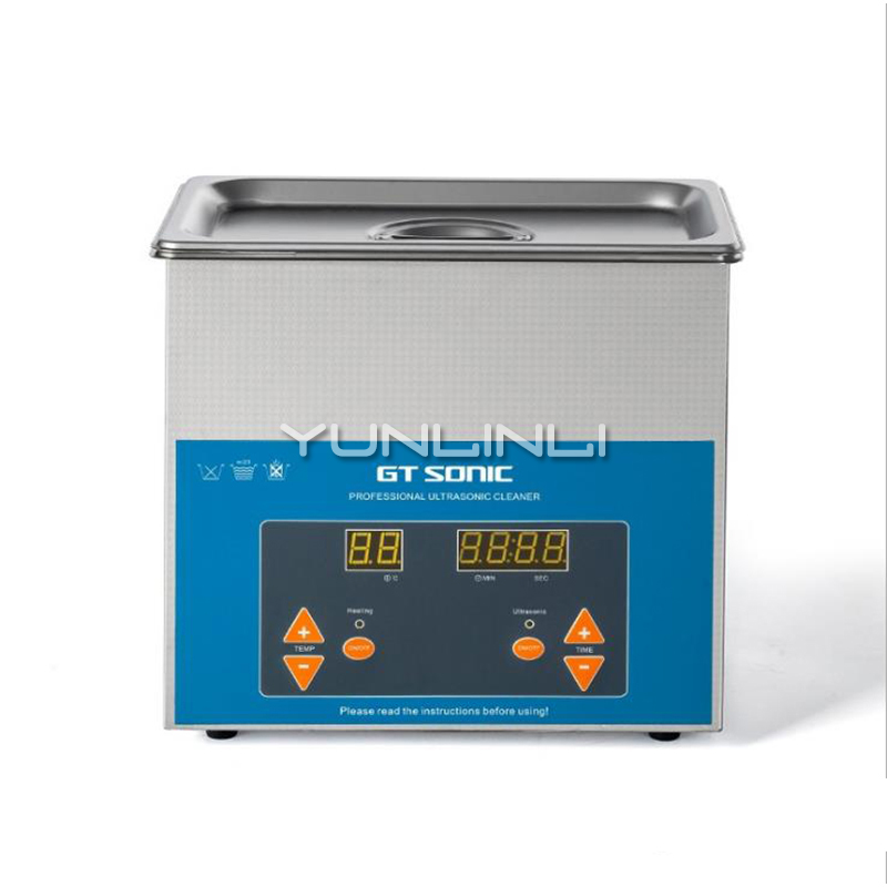 Small Ultrasonic Cleaning Machine Parts Aluminum Plate Device Ultrasound Ultrasound Washing Machine VGT-1730QTD