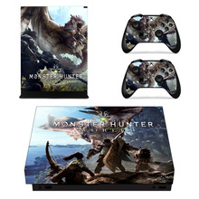 Monster Hunter World Skin Sticker For Microsoft Xbox One X