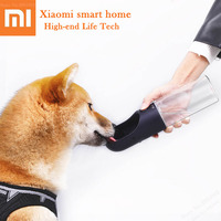 New Xiaomi Pet Dog Cat Water Bottle Portable Outdoor Travel Cups Feeder Drinking Bowl 400ml Water Dispenser Health Pet Products