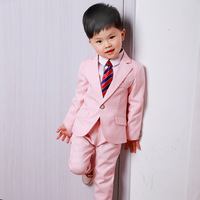 LUOBOBEIBEI Boy Clothing Suit Formal 3 Pieces For Wedding Costume For Boy Children Casual Solid Blazer Kids Clothes