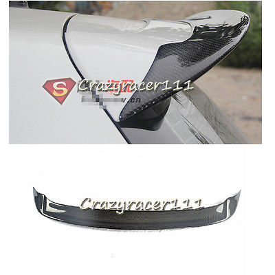 Rear Roof Spoiler Wing Lip Fit For VW Golf 6 MK6 VI GTI R20 Carbon Fiber