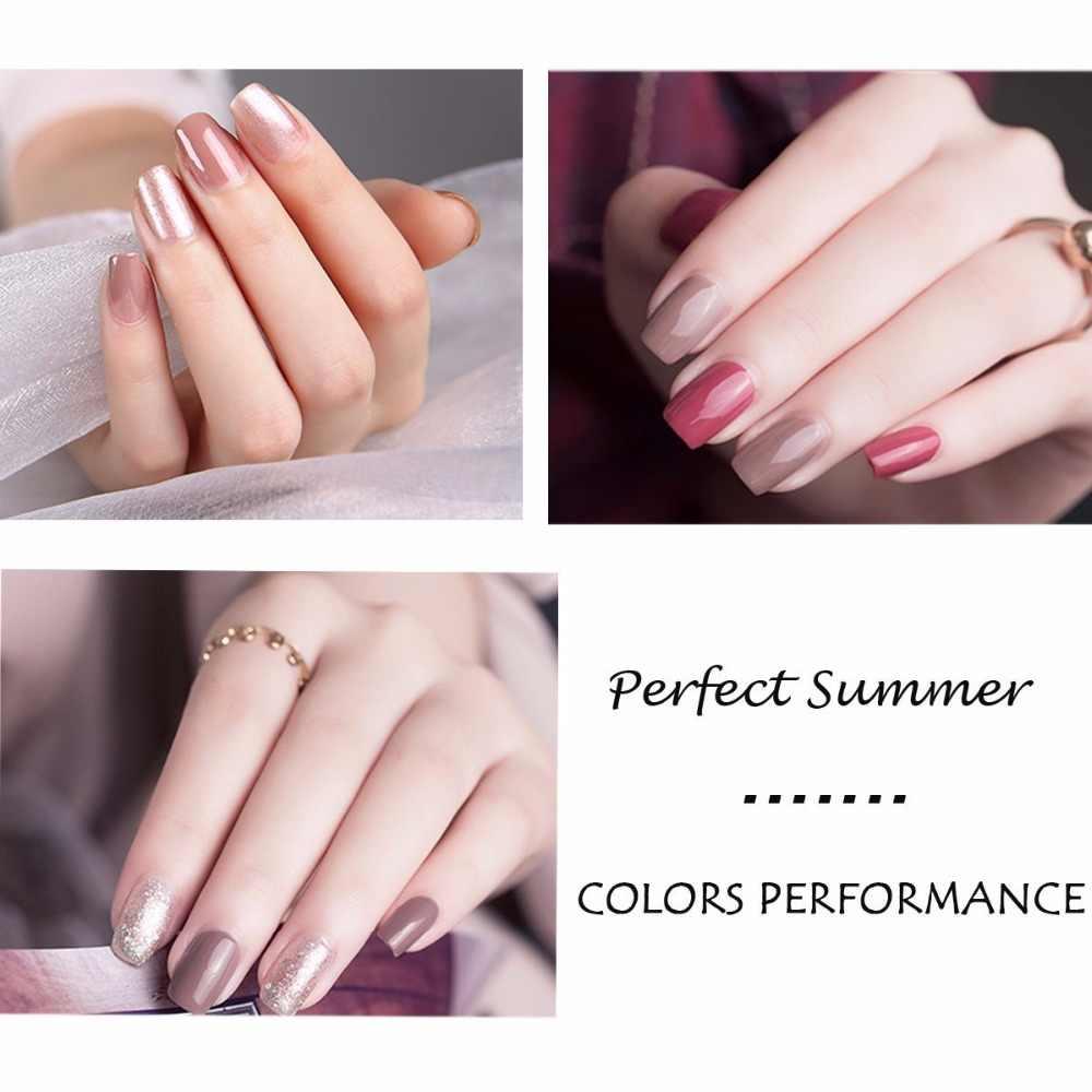 מושלם קיץ 240 צבעים ציפורניים ג 'ל UV מנורת Led ג' ל ציפורניים משרים כבוי UV ג 'ל סלון 10 ml מכירה לוהטת ג 'ל פולני