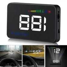 OBD2 Car HUD A500 3.5 inch Screen OBDII Auto HUD Head Up Display Reflective Film Overspeed Alarm KM/H HUD Windshield Projector a8 car hud head up display car speedometer 5 5 inch windscreen projector obd2 code reader speed alarm voltage mph km h display