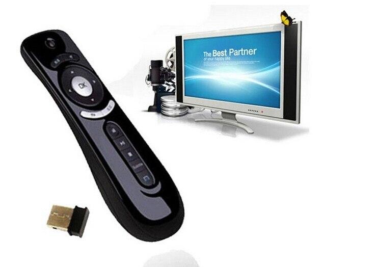 REDAMIGO 2,4 GHz inalámbrico juego teclado giroscopio Fly Air ratón F2 teclado del juego Android Control remoto para Tv Box PC andriod