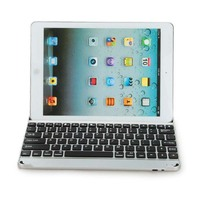 Russian Special Letter Ultra Slim ABS Wireless Bluetooth Keyboard Dock Cover Case For Apple IPad Air