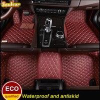 Custom Fit Car Floor Mats For Cadillac ATSL CT6 CTS SLS SRX XTS Escalade 2008 2017