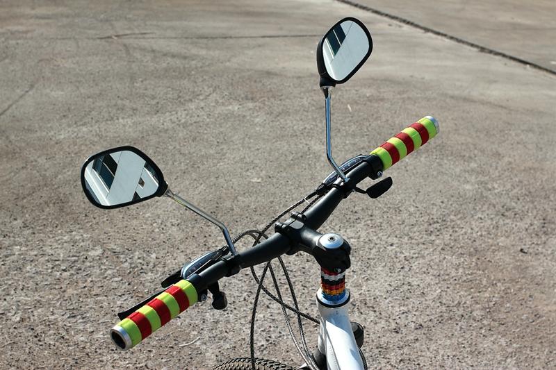 Fiets Stuur Spiegels : 2 stks paar fietsstuur spiegel scooter weg mountainbike stuur