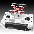 Mini zangão Headless Modo 6 Axis Gyro 2.4 GHz 4CH dron com 360 Graus Função Rollover Um Retorno Chave RC helicóptero