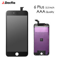 1PCS No Dead Pixel Black White Display For IPhone 6 Plus LCD Digitizer Assembly Replacement 5