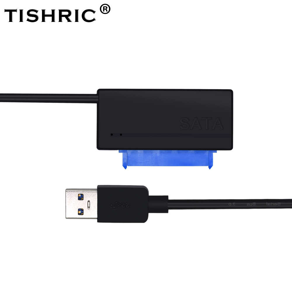 hight resolution of tishric sata to usb 3 0 adapter molex 15 7 22pin cable case external hard disk