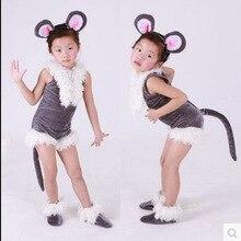 Weliвенеция, Детский костюм животного для косплея, унисекс, мышь, одежда