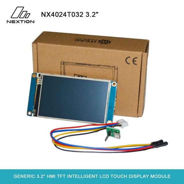 "Nextion NX4024T032 גנרי 3.2 ""HMI TFT אינטליגנטי LCD מיושם כדי IoT או תחום אלקטרוניקה מגע תצוגת מודול"