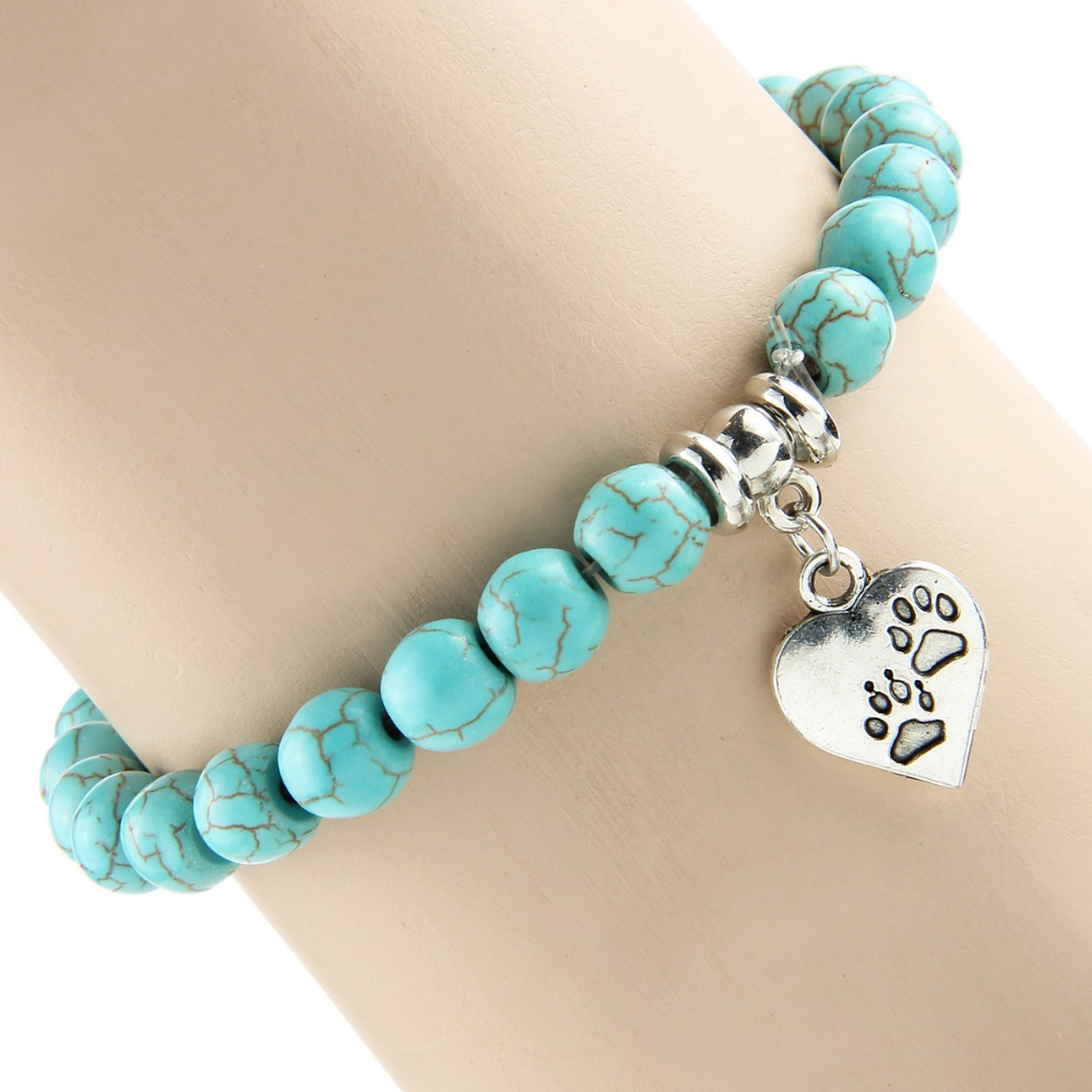 Pet footprint bracelets 2
