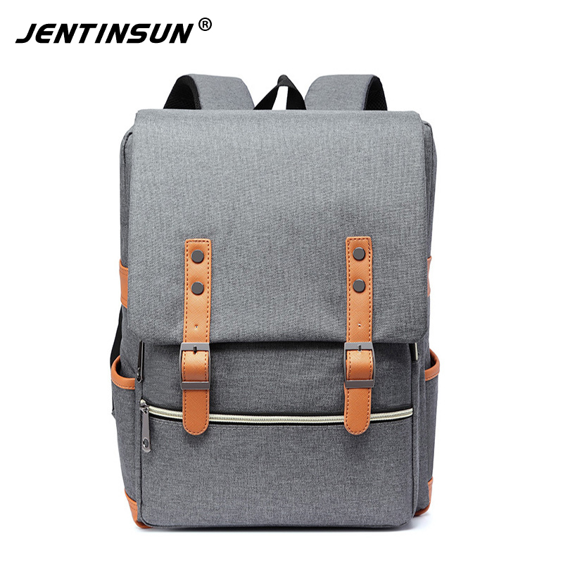2018 new backpack computer backpack college wind men and women Korean students school bags Tide men's travel bag korean edition new middle school students college style double shoulder bag leisure pack men and women s travel backpack