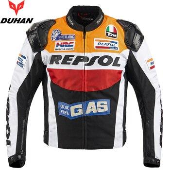 DUHAN  Jacket moto GP REPSOL motorbike Jacket