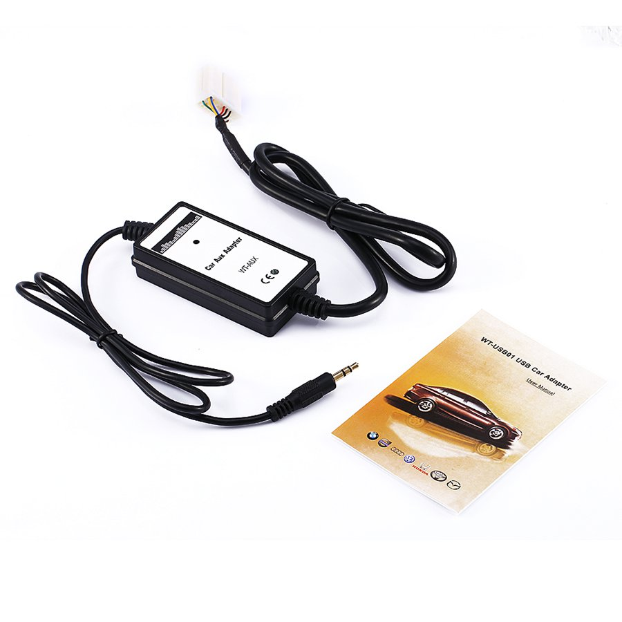 imágenes para AUX-in Interfaz de Entrada de CD de Música Del Coche Cable Adaptador Para Honda Accord Cívico Odyssey 2016
