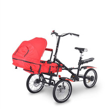 3 in1 1 Fashion Mother Baby Bike Strollers Carrier Bicycle Carrinho Alloy Steel Not Taga Baby Stroller Bike 6 Inch