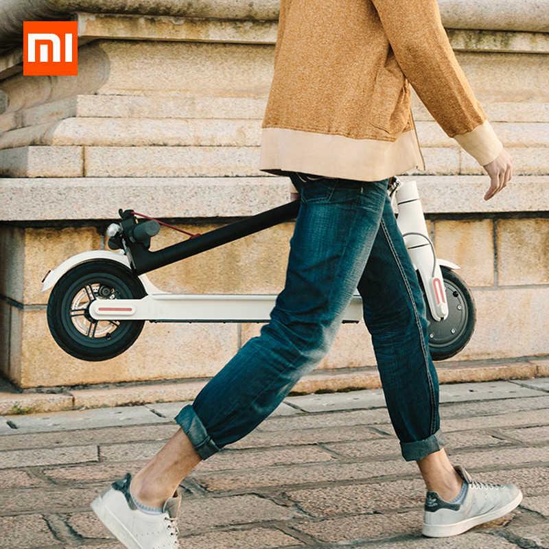 Globale Versione Xiaomi M365 Scooter Elettrico norma mijia Pieghevole Longboard Hoverboard Skateboard 30km Chilometraggio Adulti 2 ruote con APP